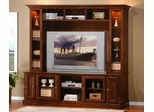Entertainment Center - 2 Piece Set in Merlot Oak - Coaster