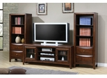 Entertainment Center - 3 Piece Set in Walnut - Coaster