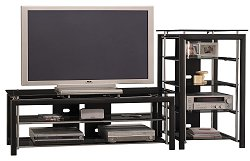 Entertainment Center for 60 Inch Flat Panel / Flat Screen TVs - Bush Furniture - ENTCEN-SET-2