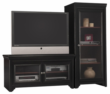 Entertainment Center Set 1 - Stanford Collection - Bush Furniture - VS53936-SET