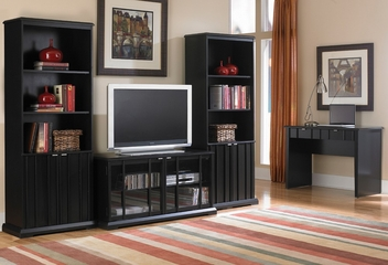 Entertainment Center Set - Baker Street - Inspirations by Broyhill - 136-239-121