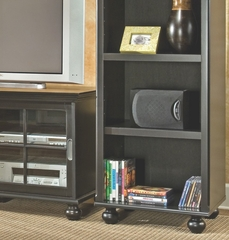 Entertainment Center Set in Black - Bradford Place - Inspirations by Broyhill - 433-SET