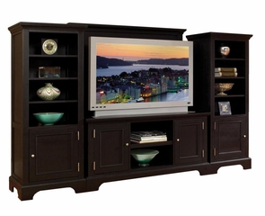 Entertainment Center Set in Ebony - Bedford - 5531-ESET