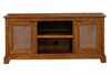Entertainment Console in Soft Mahogany - Jamaican Bay - 5535-121