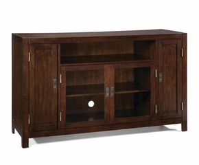Entertainment Credenza in Espresso - City Chic - 5536-10