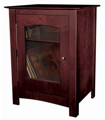 Entertainment Stand in Cherry - Crosley - ST75-CH