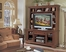 Entertainment Unit in Classic Cherry Finish - Wynwood Furniture - 1541-52