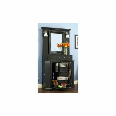 Entry Organizer in Worn Black by Ty Pennington - Howard Miller