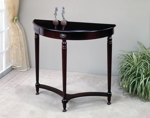 Entry Table with Turned Legs in Cherry - 950064