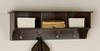 Entryway Cubbie Shelf in Espresso - Fremont - Prepac Furniture - EEC-4816