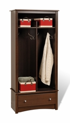 Entryway Organizer in Espresso - Prepac Furniture - EEL-3369