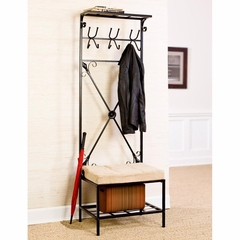 Entryway Storage Rack / Bench Seat - Holly and Martin