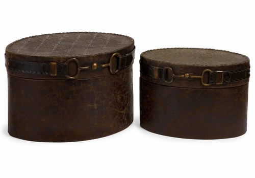 Equestrian Boxes (Set of 2) - IMAX - 1346-2