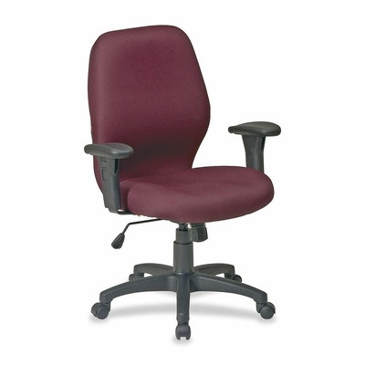 Ergonomic Chair - Burgundy - LLR86902