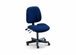 Ergonomic Office Chair - Comfort Multi-Function Task Chair in Blue - Mayline Office Furniture - 40212111