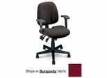 Ergonomic Office Chair - Comfort Multi-Function Task Chair in Burgundy - Mayline Office Furniture - 40212112