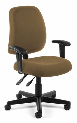 Ergonomic Office Chair - Posture Task Chair with Arms - OFM - 118-2-AA