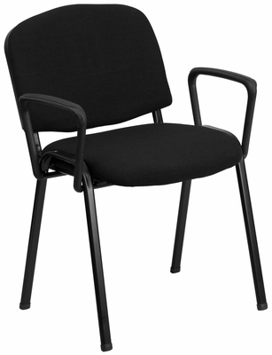 Ergonomic Stack Chair - EU-84-BK-A-GG