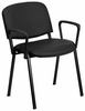 Ergonomic Stack Chair - EU-84-BK-VYL-A-GG