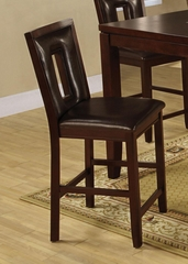 "Ervin 25"" Upholstered Counter Stool - Set of 2 - 102529"