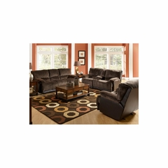 Escalade 3pc Power Reclining Living Room Set in Chocolate - Catnapper