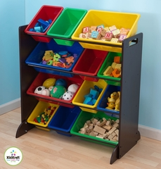 Espresso Bin Unit - KidKraft Furniture - 15451