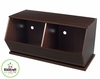 Espresso Double Storage Unit - KidKraft Furniture - 14174
