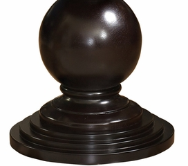 Espresso Round Accent Table - Powell Furniture - 809-350