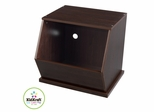 Espresso Single Storage Unit - KidKraft Furniture - 14172