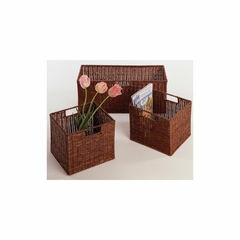 Espresso Storage Baske - Set of 3 - Winsome Trading - 92323