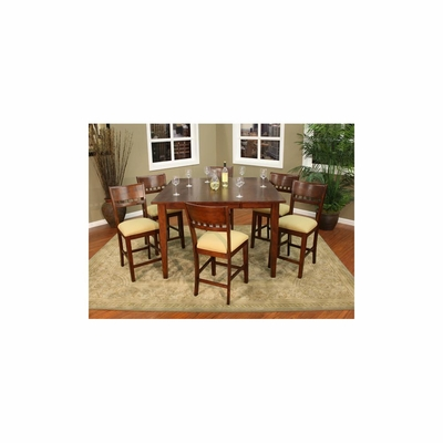 Este 7pc Butterfly Counter Height Set - American Hertiage - AH-713622