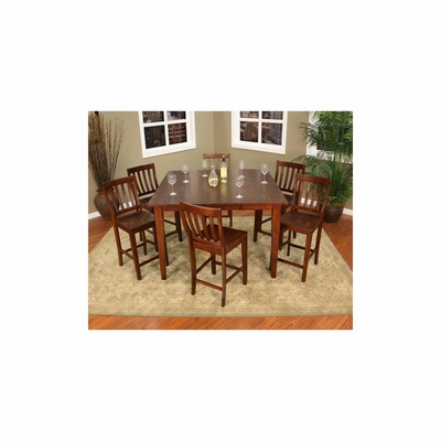 Este 7pc Counter Height Table with Chairs - American Hertiage - AH-713495