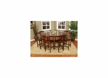 Este 9pc Counter Height Table with Chairs - American Hertiage - AH-713652