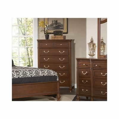 Eternity Walnut 6 Drawer Chest - Largo - LARGO-ST-B1070-30