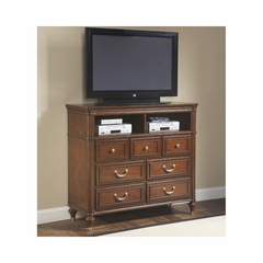Eternity Walnut HD Media Chest - Largo - LARGO-ST-B1070-28