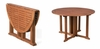 Eucalyptus Folding Dining Table in Natural - Merry Products - MPG-STK-FTBL01