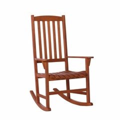 SEI Hardwood Porch Rocker - Oil Finish