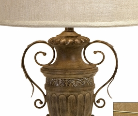 Euripides Urn Table Lamp - IMAX - 23161