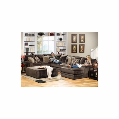 Everest Sectional Sofa with Ottoman - Jackson Furniture