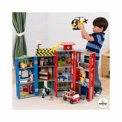 Everyday Heroes Police & Fire Set - KidKraft