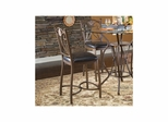 Exclaim 24'' Counter Stool - Set of 2 Antique Bronze - Largo - LARGO-ST-D1149A-25