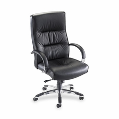 Exec. Hi-Back Chair - Black Lthr - LLR60502