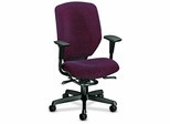 Exec. Hi-Back Chair - Claret - HON6212BW69T