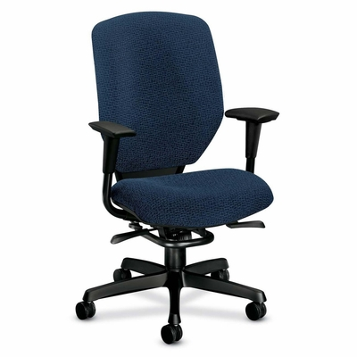 Exec. Hi-Back Chair - Navy - HON6212BW90T