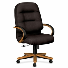 Exec High Back Chair - Charcoal - HON2191MNT19
