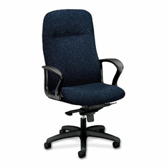 Exec. High-back Chair - Navy - HON2077BW90T