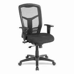 Exec High-Back Swivel Chair - Black - LLR86205