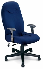 Executive Comfort High Back Chair in Blue - Mayline Office Furniture - 9413AG2111