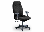 Executive Comfort High Back Chair in Gray - Mayline Office Furniture - 9413AG2110
