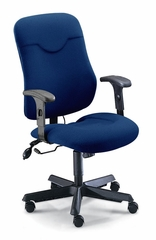 Executive Comfort Posture Chair in Blue - Mayline Office Furniture - 9414AG2111